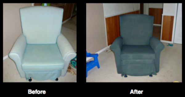 Check Out This Awesome Chair Transformation By Sarah Welte Accomplished With Charcoal Grey Simply Spray Upholstery Cool Chairs Upholstery Fabric Simply Spray
