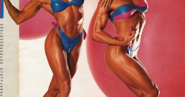 Cory Everson and Gladys Portugues | IFBB Ms Olympia | Pinterest