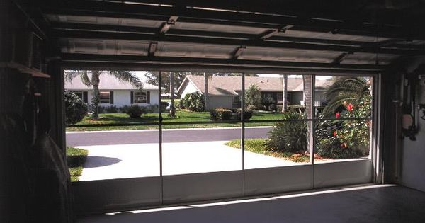 Garage Door Screen Panels | Eze-Breeze Do it yourself ...