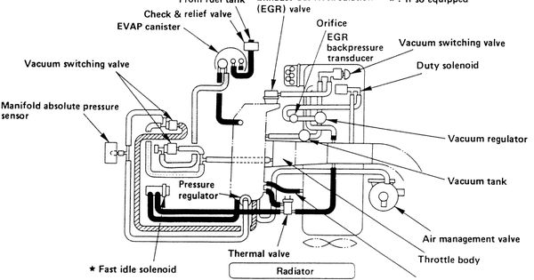 1997 Toyota Rav4 Vacuum Hose Routing Diagram Images Save