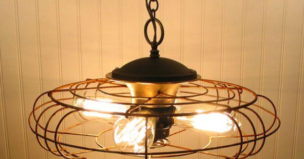 Pendant light RePurposed from vintage industrial Industrial Design modern industrial industry design