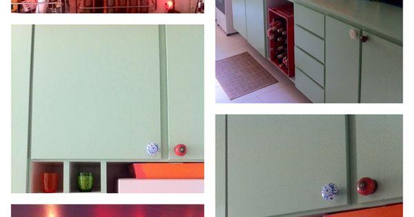Era uma vez uma cozinha rosa como pintar f rmica como - Como pintar sobre formica ...