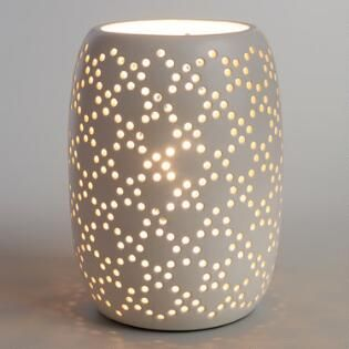 Gold Woodland Birds Accent Lamp Base Ceramic Table Lamps Table Lamps Living Room White Ceramic Lamps