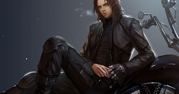 The Winter Soldier Fan Art. OH MY GOSH This