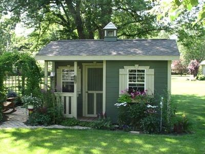 Cottage Style Sheds By Weaver Barns Distributed By Amish Buildings