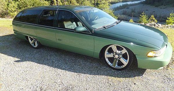 95 Caprice Wagon in 2 tone greenhttp//mrimpalasautoparts