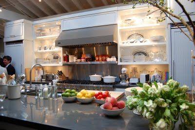 Ina Garten\'s kitchen layout in 2019 | Kitchen tile diy ...