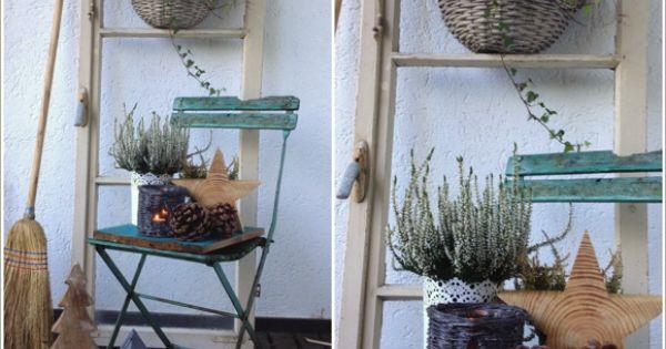 salandas welt vor unserer haust r herbst. Black Bedroom Furniture Sets. Home Design Ideas