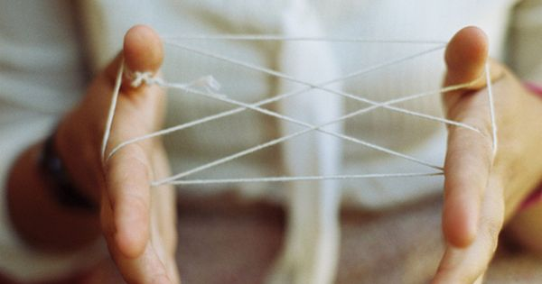 Cats Cradle - Great Summer Game. I remember this from when I