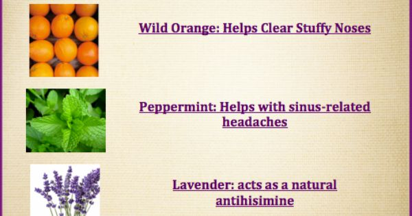 Peppermint, Lavender and Orange on Pinterest