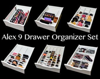 Ikea Alex 9 Palette Organizer Makeup By