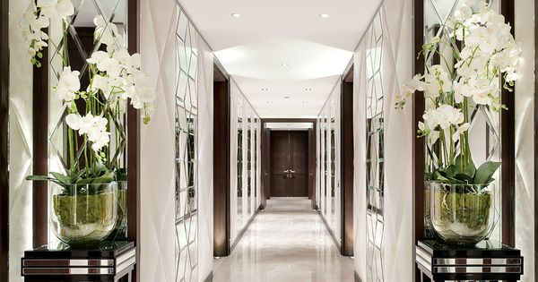 Voix one hyde park london foyer hallway pinterest for Mudroom a forma di l