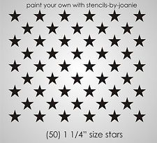 American Flag Star Stencil Template Flag Template Star