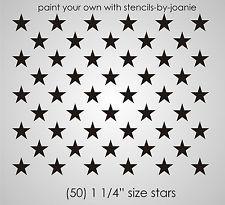 American Flag Star Stencil Template American Flag Wood