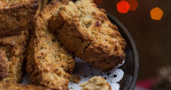 Meyer Lemon And White Chocolate Biscotti Recipe — Dishmaps