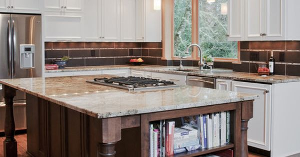 """this cooktop is a 36"""" with a pop-up downdraft. The island ..."""