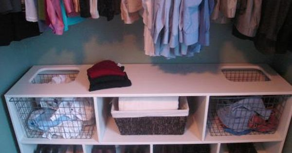 13 clever space saving solutions and storage ideas garage laundry rooms garage laundry and - Space saving garage shelves ideas must have ...