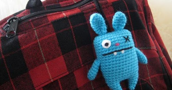 Crocheted Ugly Doll Bunny Free Crochet Pattern