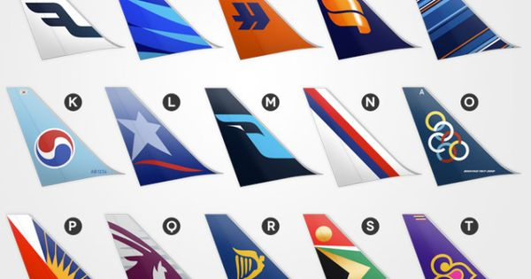 tail designs with airline logos cgd major project