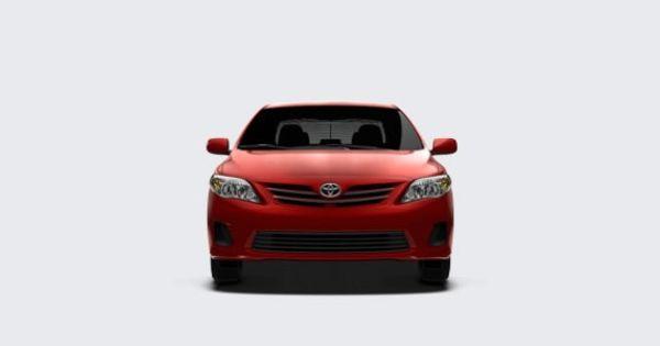 Toyota Corolla 2013 Compact Cars Toyota Corolla Toyota Corolla