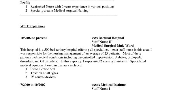 medical ward nurse cover letter websphere message broker sample - websphere message broker sample resume