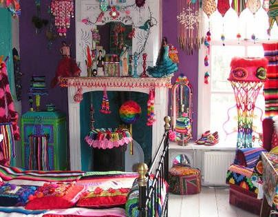 Bohemian Colors And Textures Beautiful Hippie Bedroom Bohemian
