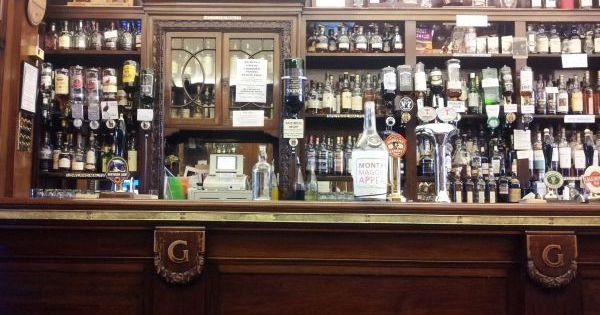 one of aberdeen 39 s great old pubs also a cracking whisky. Black Bedroom Furniture Sets. Home Design Ideas