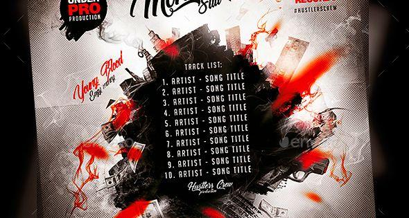 Street Rap Mixtape Template Mixtape Rap Mixtape Cover