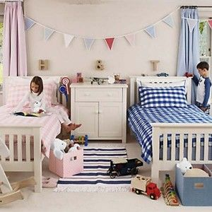 21 Brilliant Ideas for Boy and Girl Shared Bedroom | Shared girls
