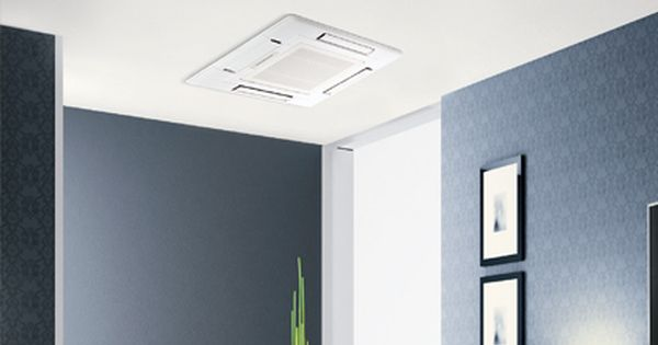 Ceiling Recessed Ductless Heating And Cooling Heat Pump System Ductless Heating