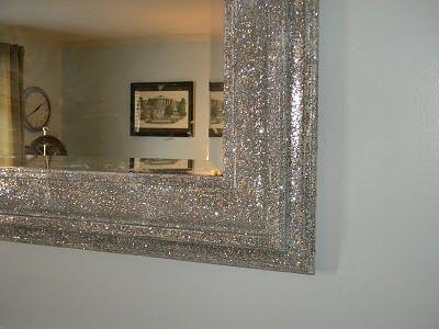 Diy Ed Mirror Home Decor Decor Glitter Bedroom