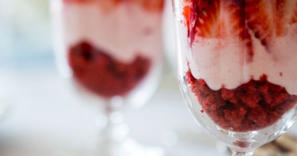Red Velvet & Strawberry Mousse Verrines | Food n'stuff ...