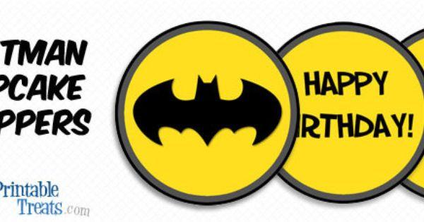 "BATMAN 2/""  CUPCAKE TOPPERS  $3.45-$5.50 *****FREE SHIPPING*****"