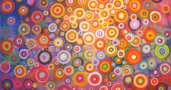 fractal rainbow art