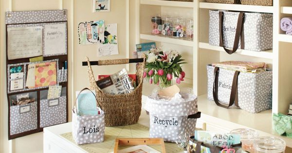 Organize an office or craft room