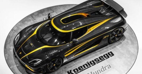 Black Yellow Koenigsegg Agera R Picture Wallpaper Koenigsegg