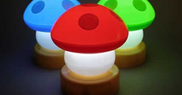 ¿No os recuerdan estas lámparas infantiles a SuperMarioBros? setas