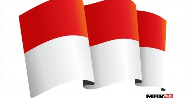 7 Gambar Bendera Indonesia Merah Putih Vector Cdr Ai Pdf Objek Gambar Bendera Indonesia