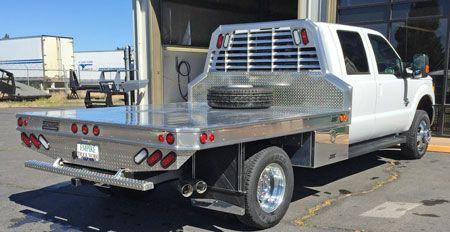 Protech Custom Truck Beds Built Truck Flat Bed