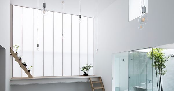 Yoshiaki yamashita designs shoji screen house in osaka - Escalera japonesa ...