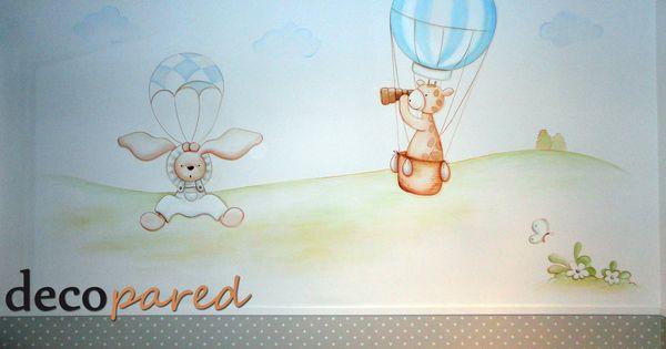 Decoracion de habitaciones de bebe murales infantiles for Colowall papel mural santiago