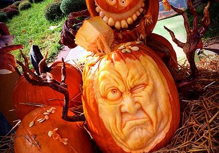2015 Pumpkin Carving Contest Winners  The smalls, Old houses and ...