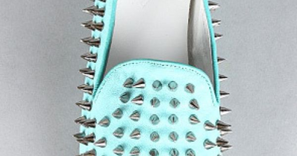 mint spiked flats, NEEEEEED