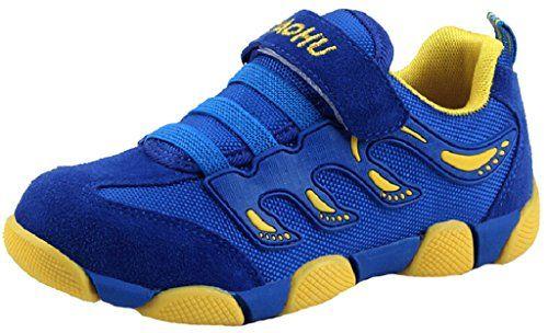 DADAWEN Boy's Girl's Athletic Velcro…