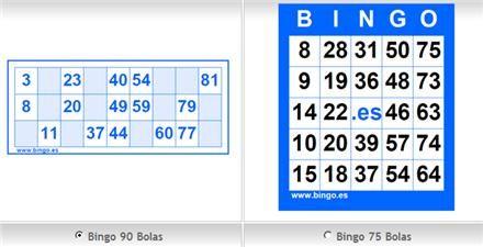 Cartones Bingo Bingo Cartelas De Bingo