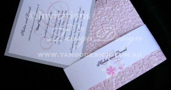 Wedding Invitation Embossed was perfect invitation sample