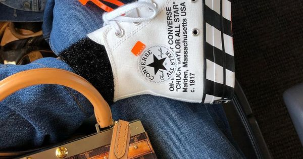 """error Persistencia Explosivos  Blanca Miró Scrimieri on Instagram: """"The @converse collection is growing  🎬🎬🎬 and these x @off____white are 🤩 🚅🚅🚅🚅 @… 