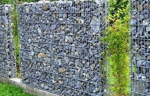 Find the nice landscaping stone pins, and build your garden, gabion wall,