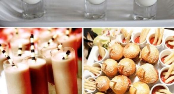 buffet mini food ideas