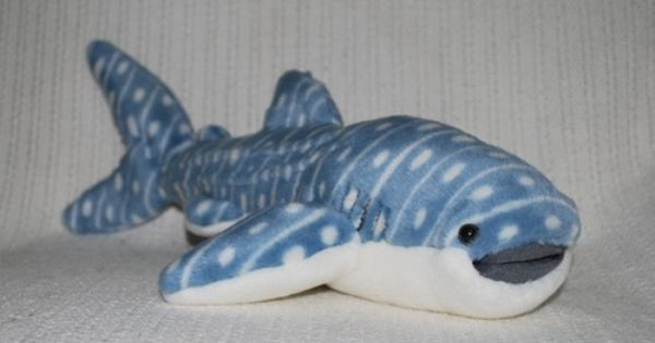 New Whale Shark Soft Stuffed Animal Plush Toy 35cm